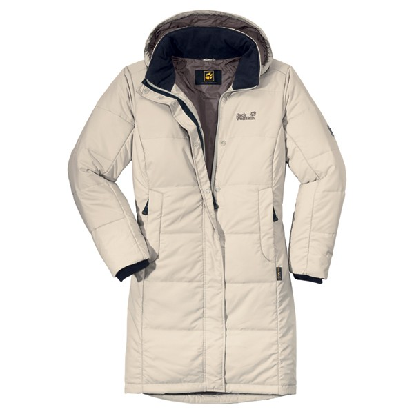 Jack Wolfskin 13522 Iceguard Insulated Coat Womens - Ivory Brix
